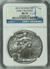 (#178) 2013-W Eagle S$1. Early Releases. NGC MS70 (With W Mint Mark on Reverse)