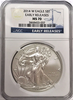 (#179) 2014-W Eagle S$1. Early Releases. NGC MS70 Burnished