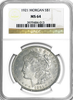 (20) Mixed Dates Morgan Dollars NGC MS64 (Common Dates)
