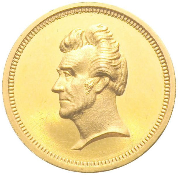 Andrew Jackson 2nd Inaugural GOLD NGC PF64 Ultra Cameo