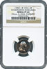 (1862) Baker-155A Silver Washington Born/Died NGC PROOF 62 19mm
