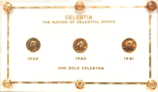 Complete Nation of Celeston Space Set  GEM+ PF UNC