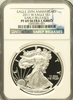 (#189) Eagle 25Th Anniversary. 2011-W Eagle S$1. Early Releases. NGC PF69 UCAM