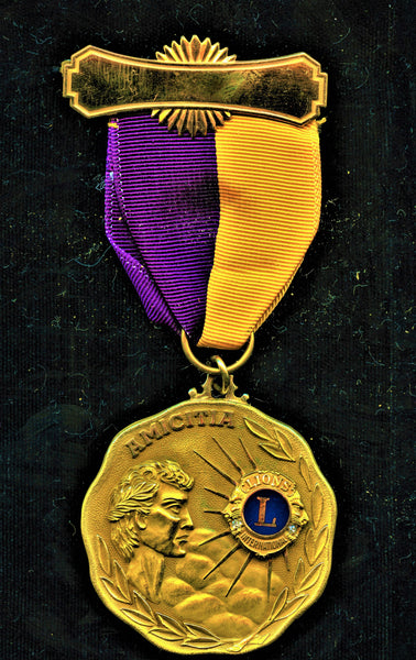 George C. Wallace Medal Gov. of Alabama by Lion's Club
