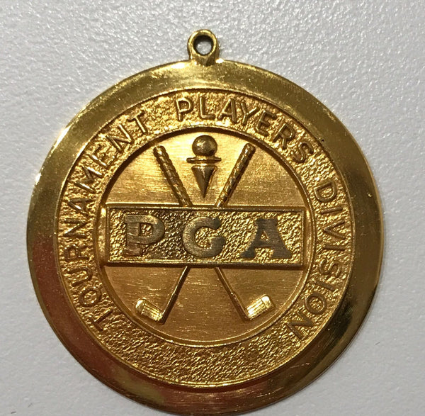 "1974 PGA ""THE B.C. OPEN"" GOLD OFFICIAL MEDAL. RICHIE KARL.  ""Unique As Struck"" ""14K Solid Gold"""