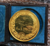 1870 U.S. Mint Julian-AM-65 Gold Medal With Original Case