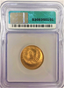 1860s (U.S. Mint-Julian) Lincoln Gold Medalet Struck on 1861 Half Eagle. Extremely RARE