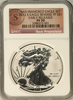 (#148) San Francisco Eagle Set. 2012-S Eagle Reverse PF S$1. Early Releases. NGC PF70