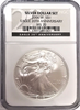 (#140) Silver Dollar Set. 2006-W S$1. Eagle 20th Annyversary. NGC MS70