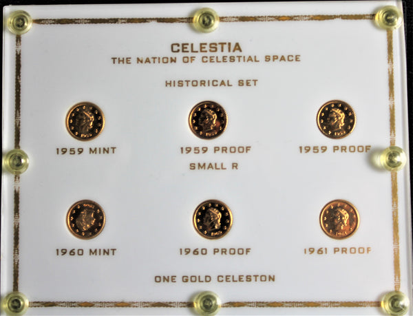 Celestia - The Nation of Celestial Space Historical 6 Piece Set