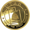 Utah - The Beehive State Gold Commemorative. $20 Size. Extremely Rare