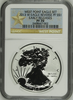 (#156) West Point Eagle Set. 2013-W Eagle Reverse PF S$1. Early Releases. NGC PF70