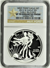 (#153) West Point Eagle Set. 2013-W Eagle S$1. Early Releases. NGC SP70 Enhanced Finish