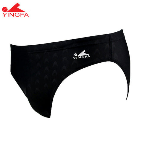 9201-1 Yingfa Sharkskin Brief - Black