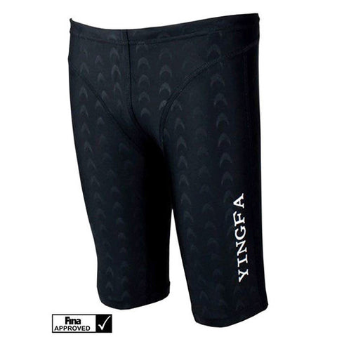 9205-1 Yingfa Sharkskin Fina Approved Jammers - Black