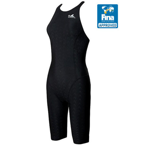 925-1 Yingfa Sharkskin Fina Approved Kneesuit - Black