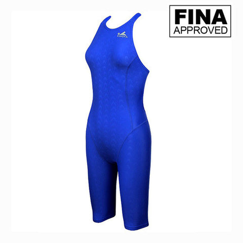925-2 Yingfa Sharkskin Fina Approved Kneesuit - Blue