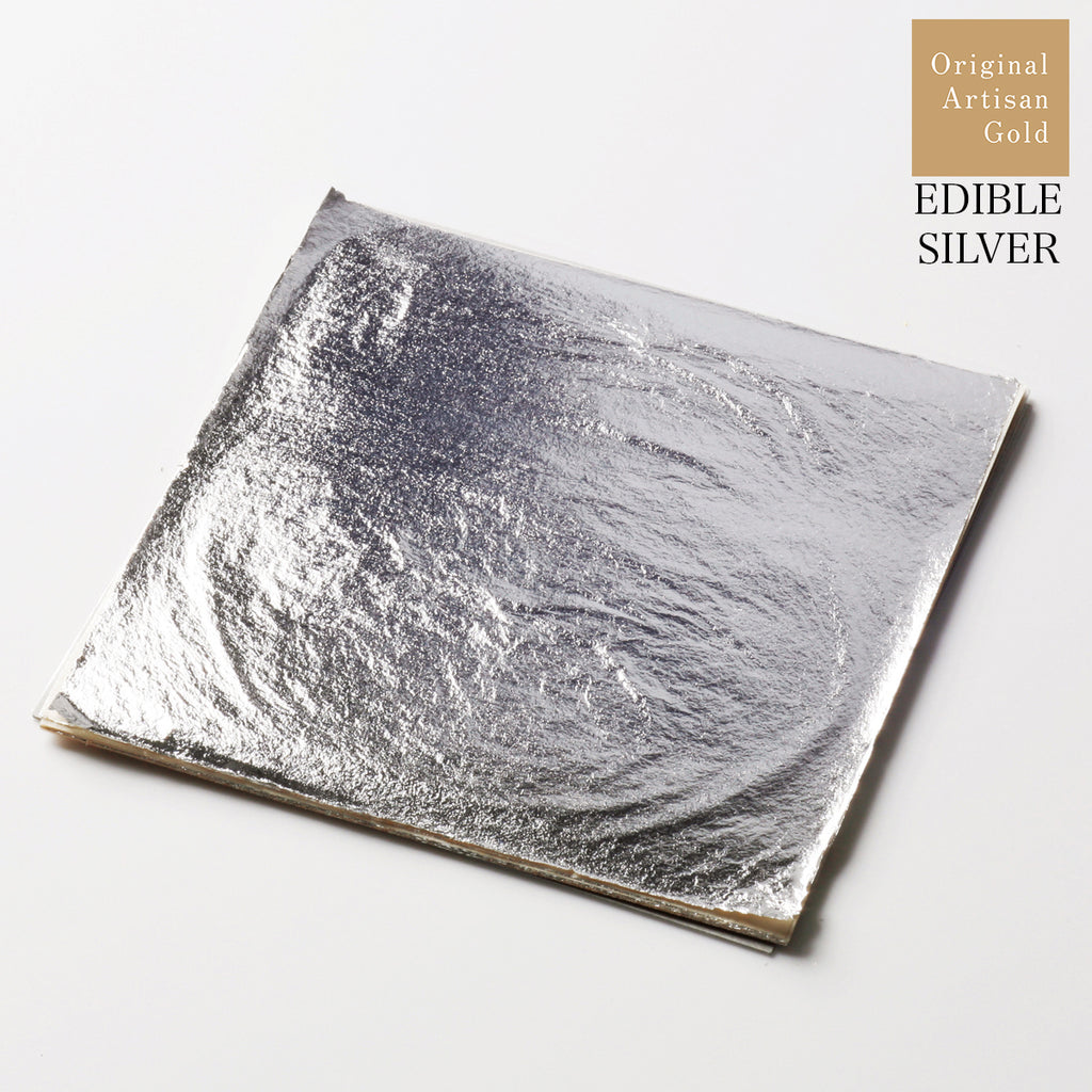 New Arrival: 1x Silver Leaf Sheets