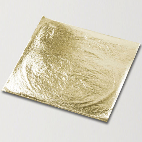 11x11cm Artisan Champagne Gold Deluxe Loose Leaf - Product photo - cake decorating supplies