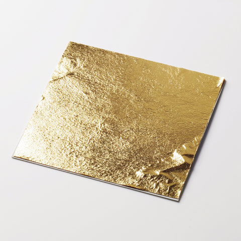 gold leaf sheets - original artisan gold - edible