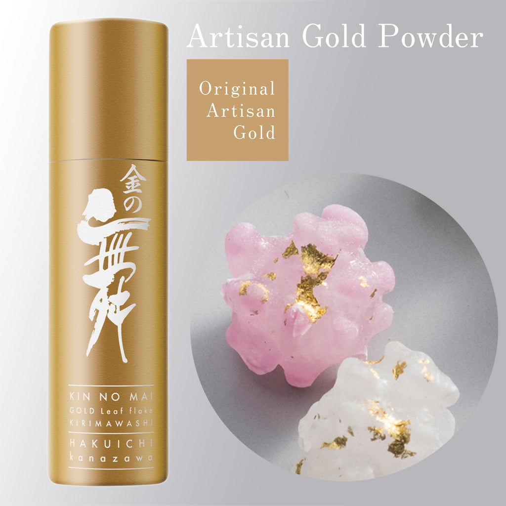Candy - create this look - edible artisan gold leaf powder - Original Artisan Gold