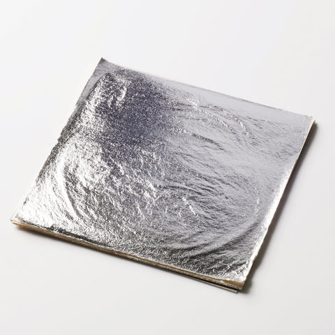 Original Artisan Gold edible silver leaf loose leaf sheet