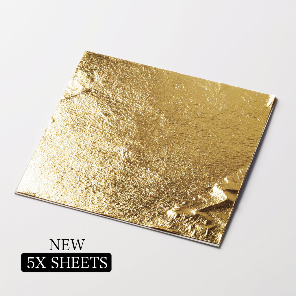edible gold leaf loose leaf 5x packs
