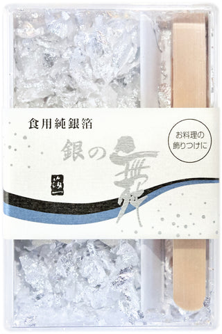Original Artisan Gold - Edible silver leaf flakes