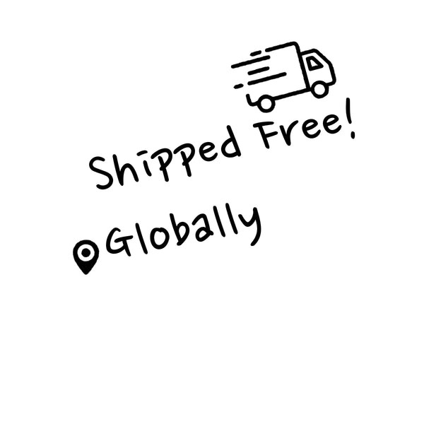 shipped free globally