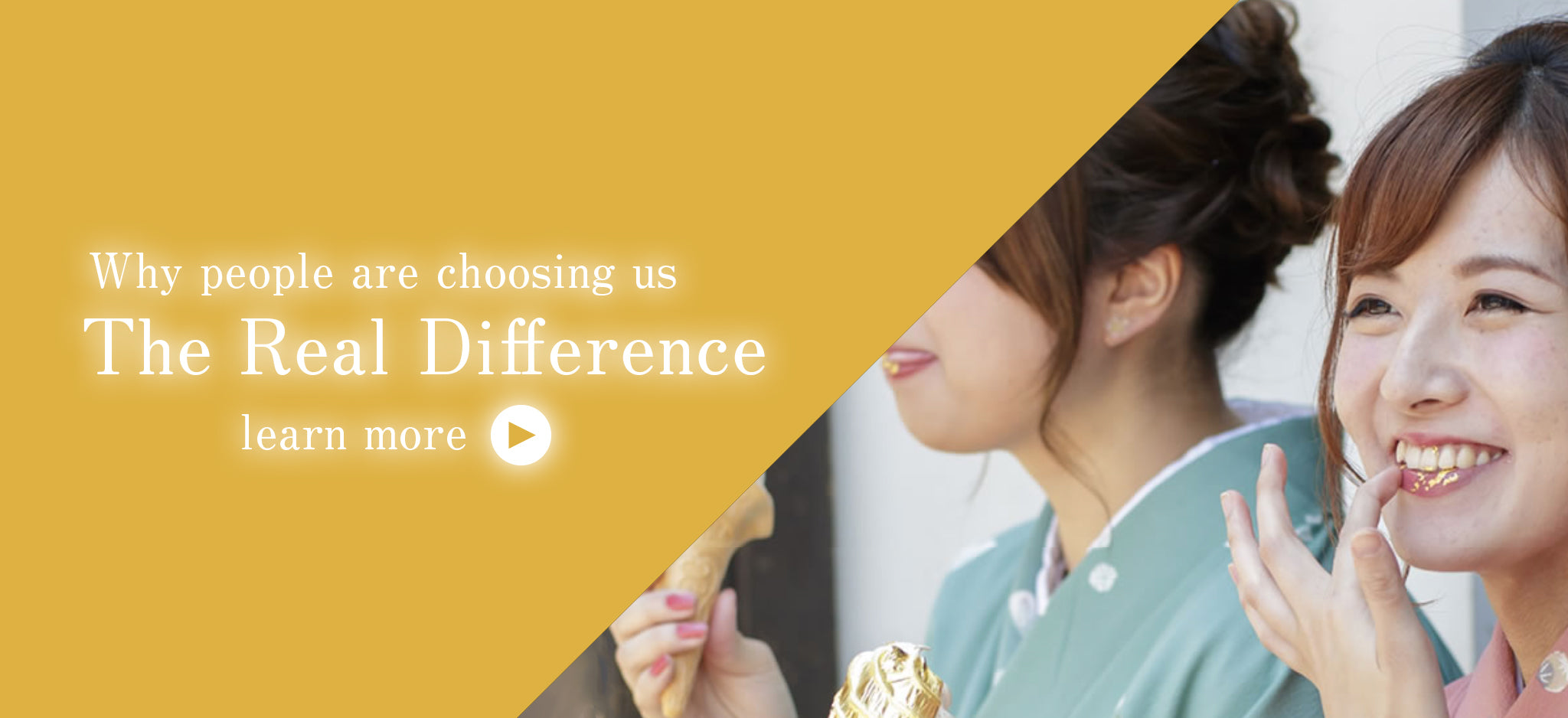 Why people are choosing us - the real difference - Original Artisan Gold