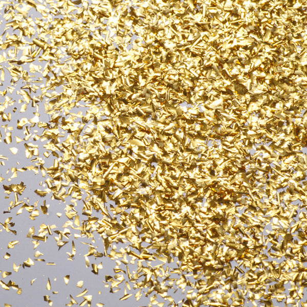 Original Artisan Gold edible gold leaf dust - close up