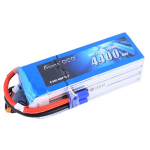 Gens ace 4400mAh 25.9V 60C 7S1P Lipo Battery Pack with EC5 plug