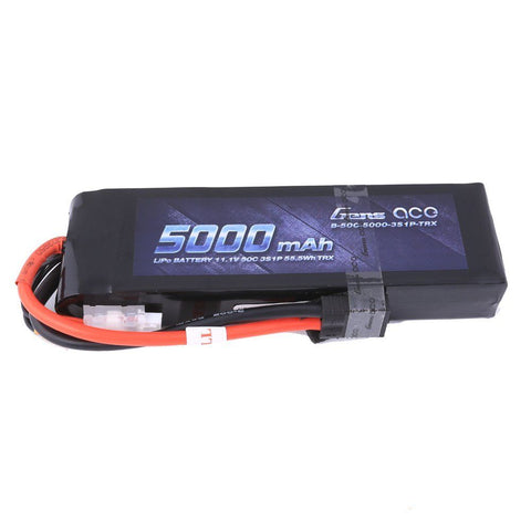 Gens ace 5000mAh 11.1V 25C 3S1P Lipo Battery Pack with traxxas plug