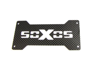 soXos Carbon Porch Plate up
