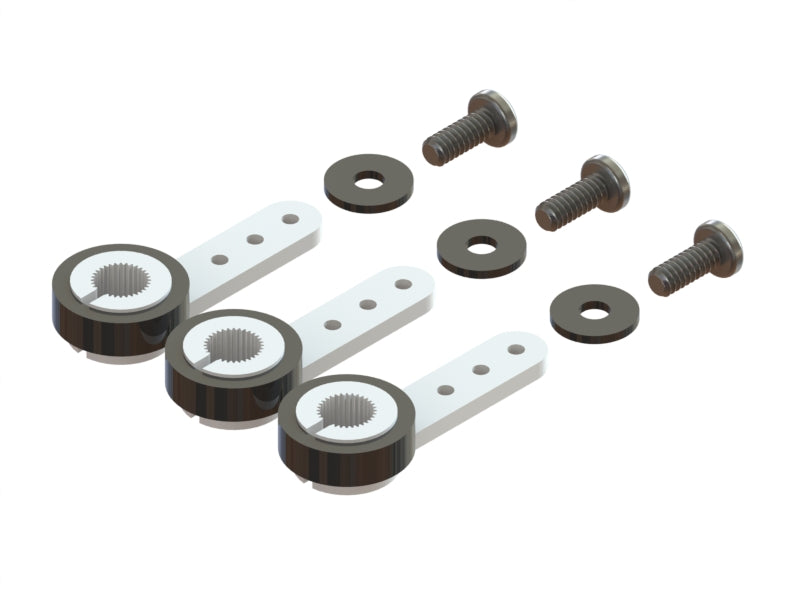 Sub Micro Servo Gear Saver Arm - Set 3pc