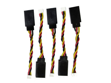 Servo Cable JST1.5 to Futaba Adapter, 5 pc