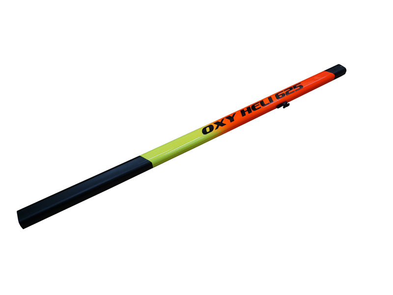 OXY5 - MEG Yellow-Orange Painted Tail Boom