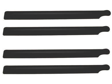 Carbon Plastic Main Blade 210mm, 2 set, Black