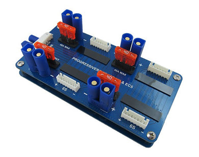 Safe Parallel Charge Board for 6S JST-XH & EC5