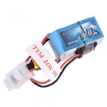 Gens ace 520mAh 11.1V 30C 3S1P Lipo Battery Pack with JST-SYP plug In stock