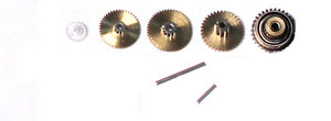 Servo Gear Set w/ Bearings, for SH0255
