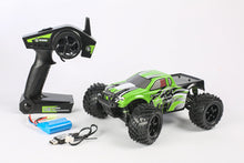 Load image into Gallery viewer, R18MT Monster Truck RTR, 1/18 Scale, Brushed, w/ a Battery, and Charger