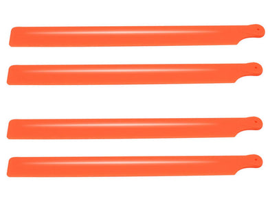 Plastic Main Blade 210mm, 2 set, Orange