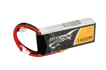 Tattu 1400mAh 11.1V 45C 3S1P Lipo Battery Pack with XT30 plug