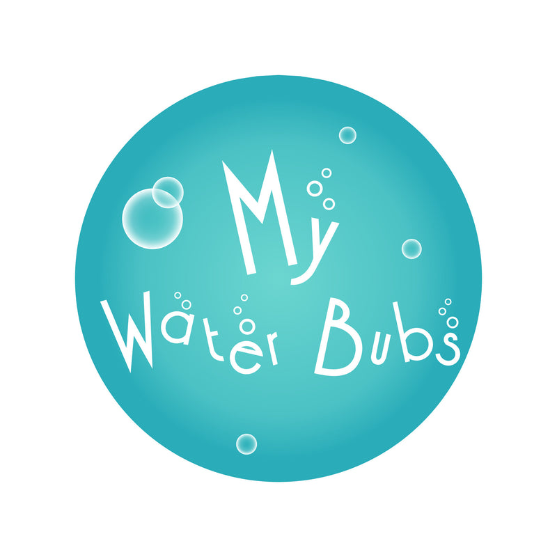 My Water Bubs Logo, float suits for babies and toddlers, boys and girls