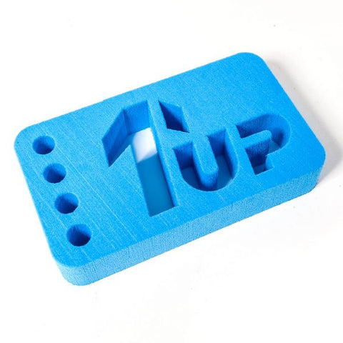 1 UP RACING Car Stand 1/10 & 1/12 On Road (Blue)