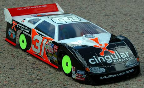 MCALLISTER TUSCON LATE MODEL BODY