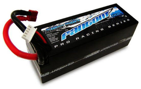 FANTOM 70C-140C PRO RACING LiPo - 6500mAh, 14.8v, 4-Cell