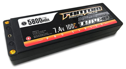 FANTOM 100C-160C MaxV-SPEC PRO RACING SERIES LiPo - 5800mAh