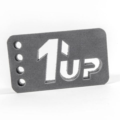1 UP RACING Car Stand 1/10 & 1/12 On Road (Grey)